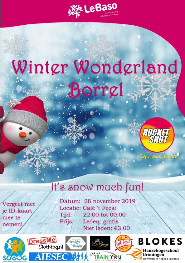 Winter Wonderland Borrel